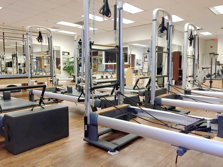 used peak pilates cadillac reformer combination for sale